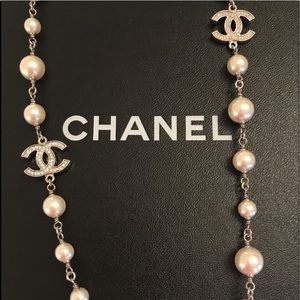 Chanel Pearl Signature Necklace